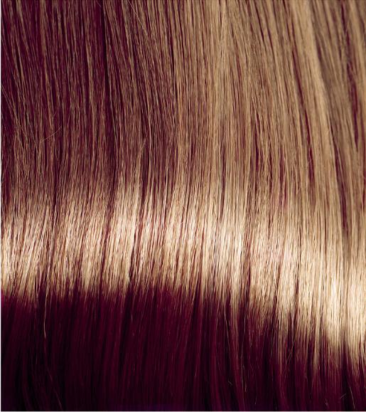 Braunes Haar